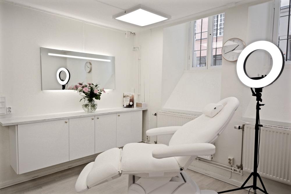 Estet skönhetsklinik behandlingsrum
